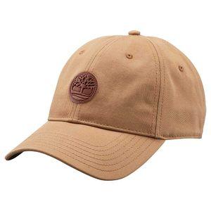 Men's Cotton Twill Cap Light Brown Café claro