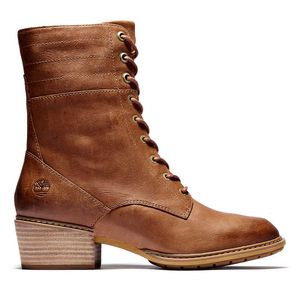 Women's Sutherlin Bay Leather Boots Café claro