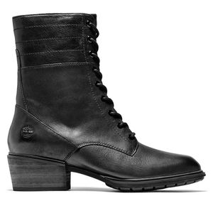 Women's Sutherlin Bay Leather Boots Negro