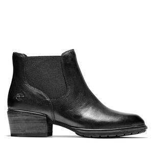 Women's Sutherlin Bay Low Chelsea Boots Negro
