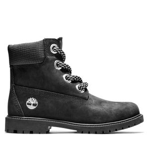 Women's Timberland® Heritage 6-Inch Waterproof Boot Negro