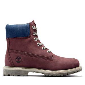 Women's Timberland® Premium 6-Inch Waterproof Boot Rojo obscuro