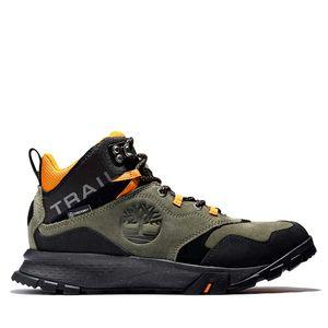 Men's Garrison Trail Waterproof Mid Hiker Boots Verde olivo