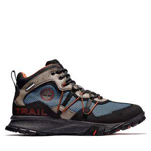 Men's Garrison Trail Waterproof Mid Hiking Boots Azul medio