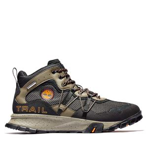 Men's Garrison Trail Waterproof Mid Hiking Boots Negro