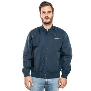 Men's Varsity Bomber Jacket Azul obscuro