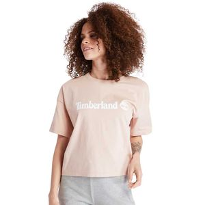 Women's Relaxed-Fit Cropped Tee Rosa Claro