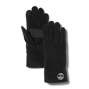 Women's Fleece Gloves with Touch Tips Negro