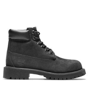 Youth Timberland® Premium 6-Inch Waterproof Boots Negro
