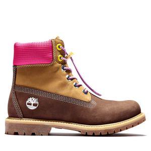 Women's Timberland® Premium 6-Inch Waterproof Boot Café obscuro