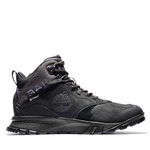 Men's Garrison Trail Waterproof Mid Hiker Boots Negro