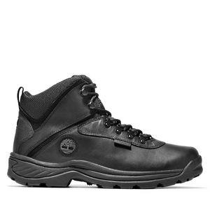 Men's White Ledge Waterproof Mid Hiking Boots Negro
