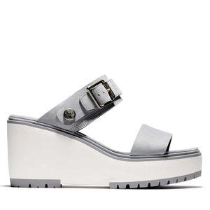 Women's Koralyn Wedge Sandals Gris claro