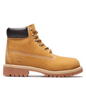 Youth Timberland® Premium 6-Inch Waterproof Boots Amarillo