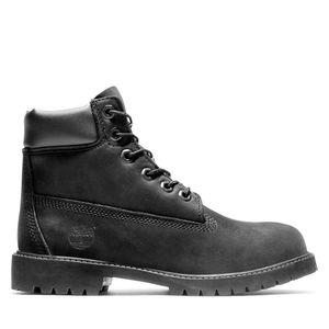 Junior Timberland® Premium 6-Inch Waterproof Boots Negro