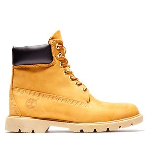 Men's Timberland® Classic 6-Inch Basic Contrast Collar Boots Amarillo