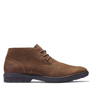 Men's Sawyer Lane Waterproof Chukka Boots Café medio