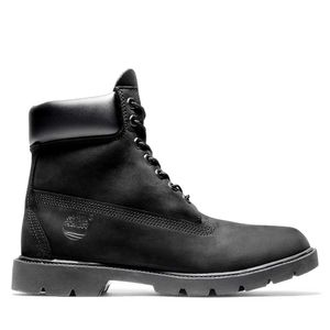 Men's Timberland® Classic 6-Inch Basic Contrast Collar Boots Negro