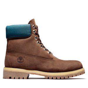 Men's Timberland® Premium 6-Inch Waterproof Boots Café medio