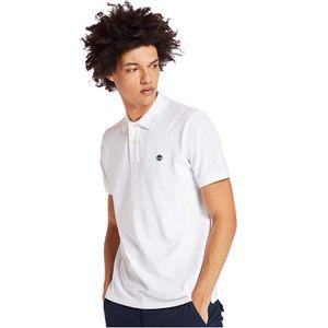 Men's Millers River Pique Polo Shirt Blanco
