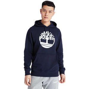 Timberland Sudadera tipo Hoodie para hombre de algodón Azul obscuro