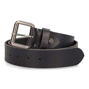 Cinturón con Hebilla de Rodillo Azul obscuro