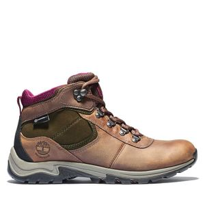 Women's Mt. Maddsen Waterproof Mid Hikers Café medio