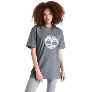 Timberland playera Oversized Metallic-Logo para Mujer