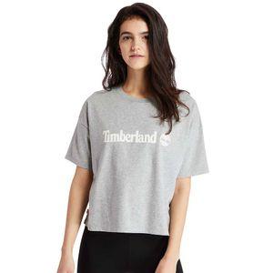 Timberland Cropped playera Relaxed-Fit para Mujer