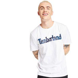 Timberland playera Camo Linear Logo para Hombre