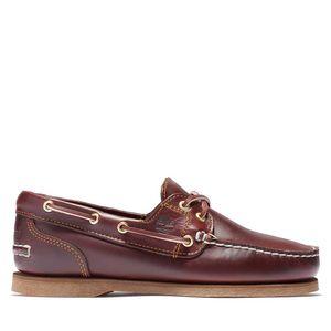 Timberland Zapatos Náuticos clásicos de piel con 2 ojales para Mujer