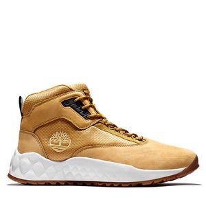 Timberland Sneaker Boots Solar Wave de piel y tela con suela ecológica GreenStride™ para Hombre