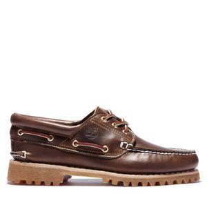 Timberland Zapatos Náuticos Authentics de piel y cosidos a mano para Hombre