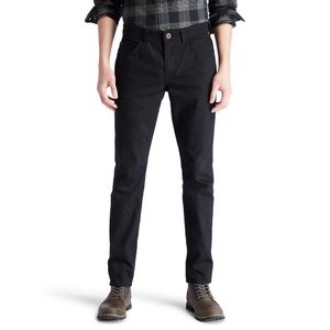 Timberland Jeans Sargent Lake Corte Stretch Mezclilla Negra para Hombre
