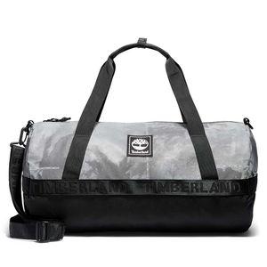 Timberland Duffel Bag Sport Leisure Reflective Weather-Print