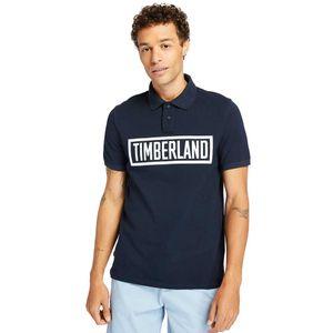 Timberland Polo Mink Brook con logotipo lineal para Hombre