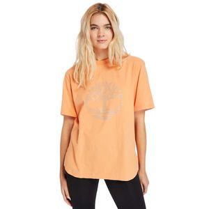 Timberland playera oversize para Mujer con logo reflectante