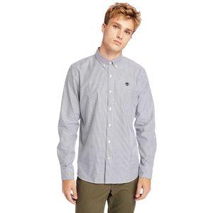 Timberland Camisa Manga Larga Ela River Elevated Oxford Stripe para Hombre