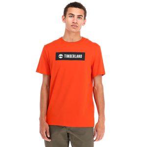 Timberland playera con logo para hombre