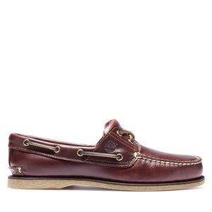 Timberland Zapatos Naúticos de piel con dos ojales para hombre
