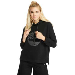 Timberland Sudadera con capucha con logo reflectante  para Mujer