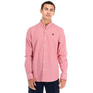 Timberland Camisa de cuadros Suncook River para hombre de manga larga