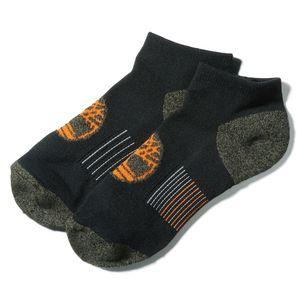 Timberland Paquete de 2 pares de calcetines deportivos de corte bajo para hombre